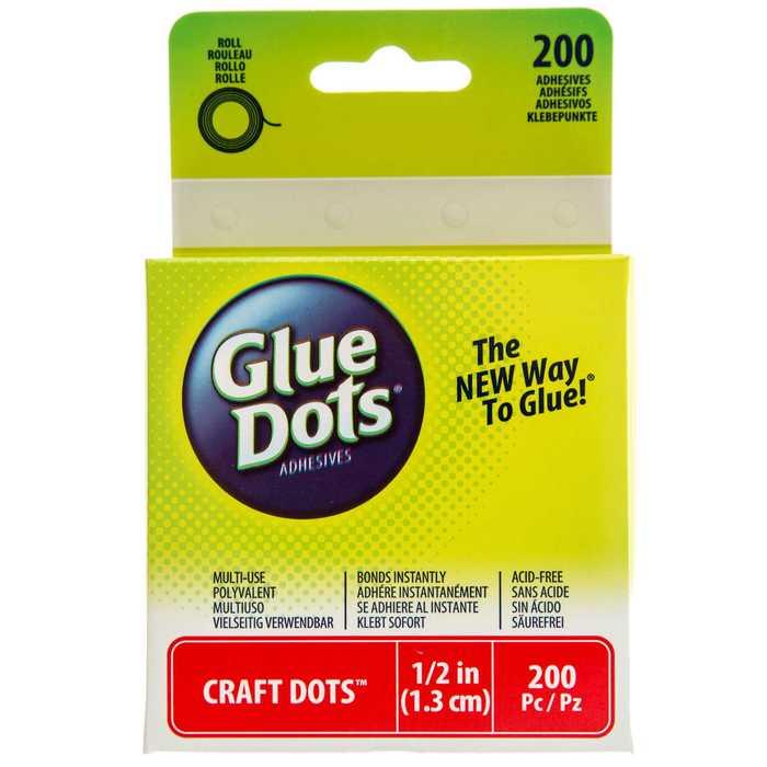 1 2 Craft Glue Dots Hobby Lobby 804898